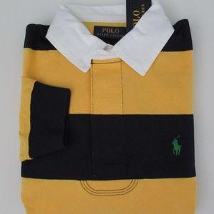 NWT Ralph Lauren Long Sleeve Striped Rugby Shirt